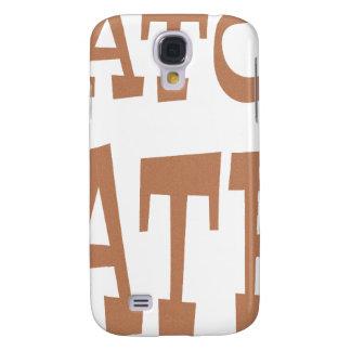 Gator Hater Bronze design Samsung Galaxy S4 Case