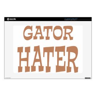 "Gator Hater Bronze design Skin For 15"" Laptop"