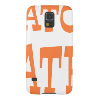 Gator Hater Burnt Orange design Galaxy S5 Case
