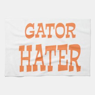 Gator Hater Burnt Orange design Hand Towels