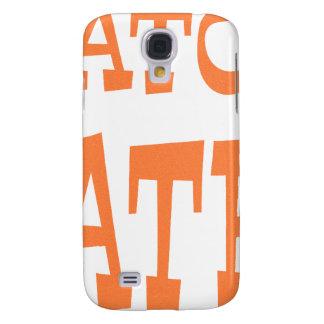 Gator Hater Burnt Orange design Samsung S4 Case