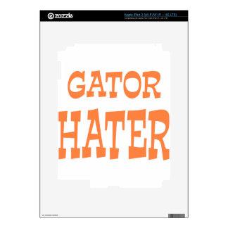 Gator Hater Burnt Orange design Skin For iPad 3