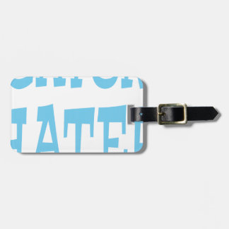 Gator Hater Carolina Blue design Luggage Tag