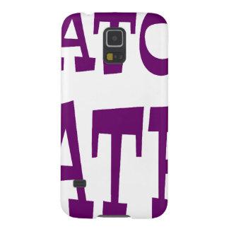 Gator Hater Dark Purple design. Case For Galaxy S5
