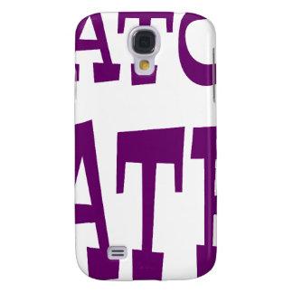 Gator Hater Dark Purple design. Galaxy S4 Case