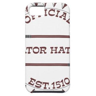 Gator-Hater-est-garnet.gif iPhone 5 Case-Mate Coberturas