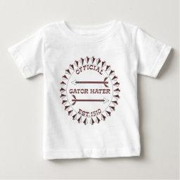 Gator-Hater-est-garnet.gif T-shirt