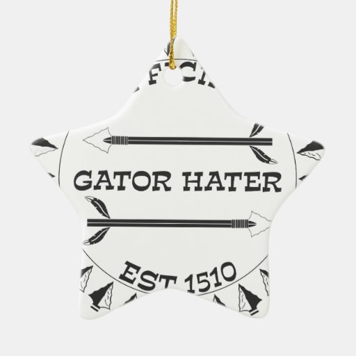 Gator-Hater-EST Christmas Tree Ornaments
