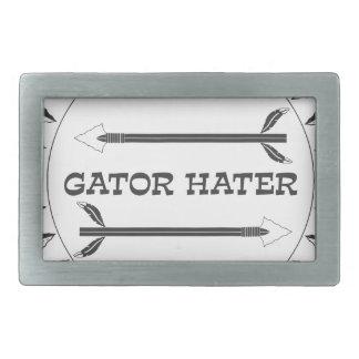 Gator-Hater-EST Rectangular Belt Buckle