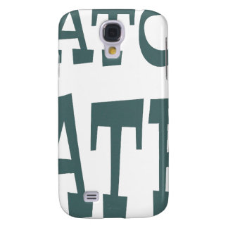 Gator Hater Forest Green design Galaxy S4 Case