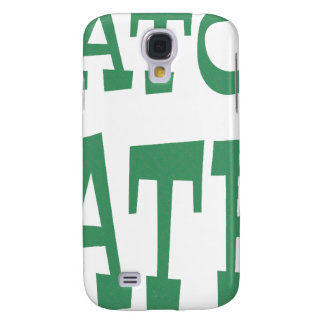 Gator Hater Irish Green design Galaxy S4 Case