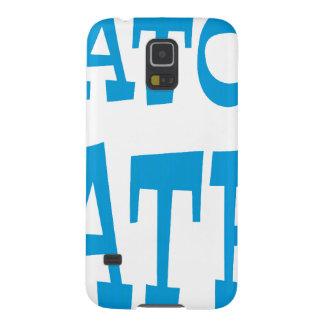 Gator Hater Light Blue design Galaxy S5 Case