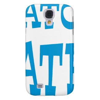 Gator Hater Light Blue design Samsung Galaxy S4 Case