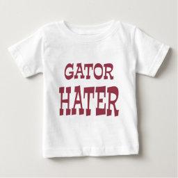 Gator Hater Maroon apparel design Infant T-shirt