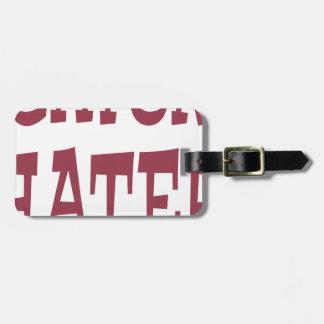Gator Hater Maroon design Bag Tag