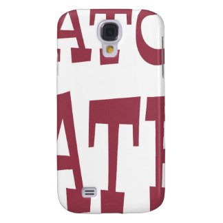 Gator Hater Maroon design Galaxy S4 Case