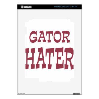 Gator Hater Maroon design iPad 3 Decals