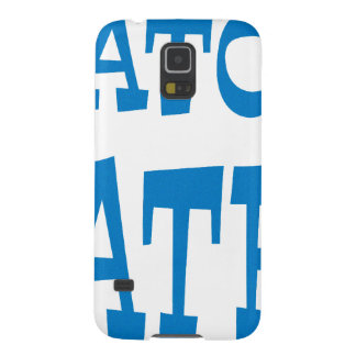 Gator Hater Powder Blue design Galaxy S5 Cover