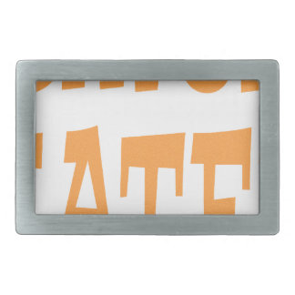 Gator Hater Tenn Orange design Belt Buckle