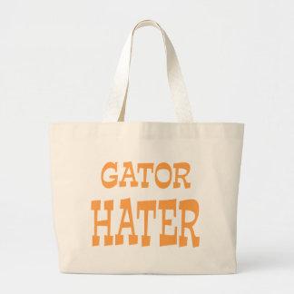 Gator Hater Tenn Orange design Large Tote Bag