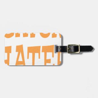 Gator Hater Tenn Orange design Luggage Tag