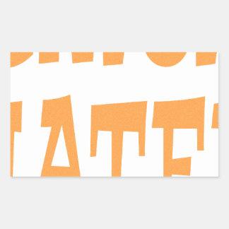 Gator Hater Tenn Orange design Stickers