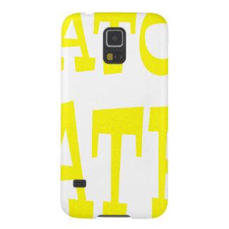 Gator Hater Yellow design Galaxy S5 Case