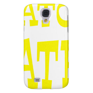 Gator Hater Yellow design Samsung Galaxy S4 Cover