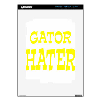 Gator Hater Yellow design iPad 3 Skin
