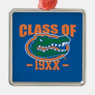 Gator Head Class Year Metal Ornament