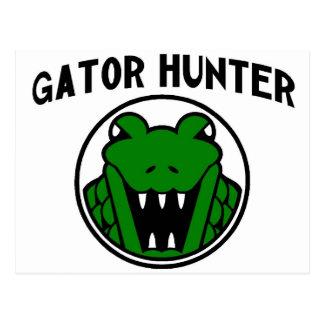 Gator Hunter Symbol Postcard