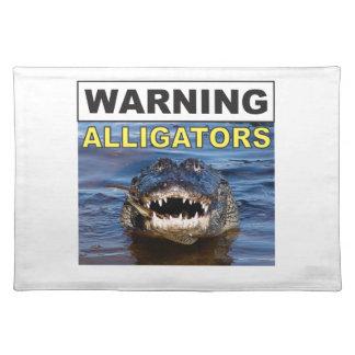 gator jaws placemat