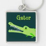 Gator Keyring Keychain