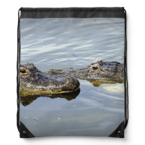 Gator Love Drawstring Backpack