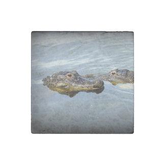 Gator Love Stone Magnet