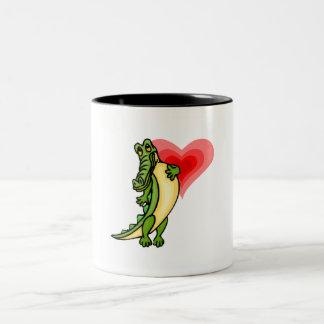 Gator Love Two-Tone Coffee Mug