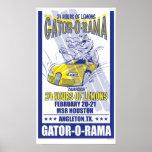 Gator-O-Rama Lemons Swampbuggy Poster