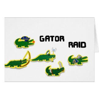 Gator Raid Card