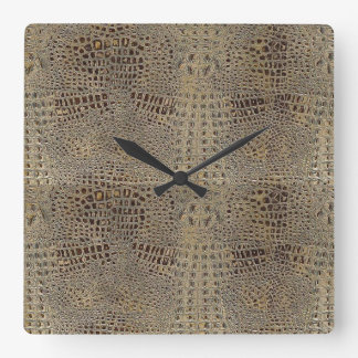 'Gator' Skinned Clock