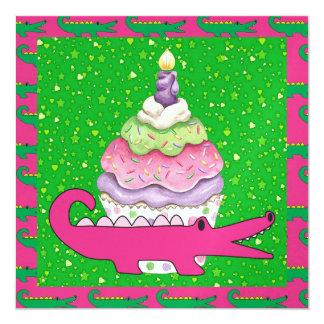 Gator - SRF 5.25x5.25 Square Paper Invitation Card