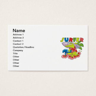 Gator Surfing T-shirts and Gifts Business Card