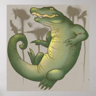 Gator Territory Poster