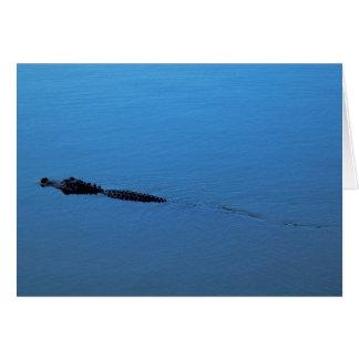 Gator Trail Card - Blank Inside