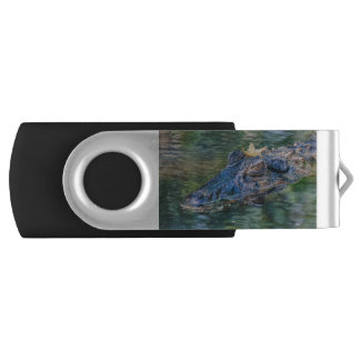 Gator with a crown USB Drive