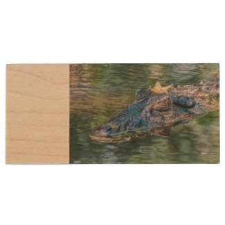 Gator with a crown USB flash drive
