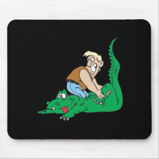 Gator Wrestling 3 Mouse Pad