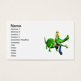 Gator Wrestling Business Card
