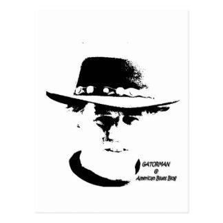 gatorman t shirt layout postcard