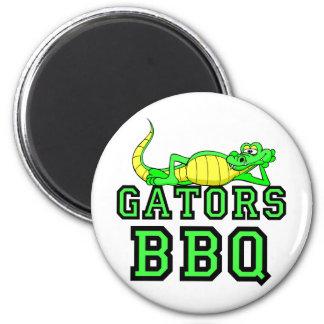 Gators BBQ 2 Inch Round Magnet
