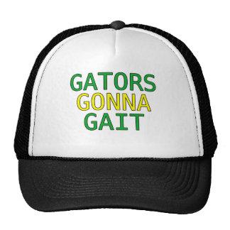Gators Gonna Gait Funny Alligator Meme T-Shirt Trucker Hat